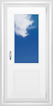 Дверь однополая пвх, купить в перми по цене от 10 000 рублей.